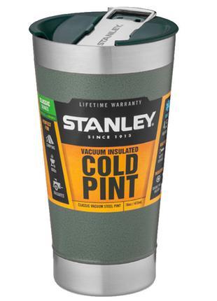 Термокружка Stanley Classic (0.47л), зеленая