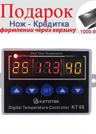 Контроллер температуры с выходным реле 24 В 10А универсальный ...