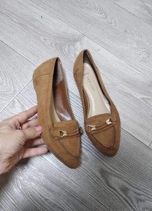 Балетки лоферы мокасины new look wide fit на широкую ногу стопу