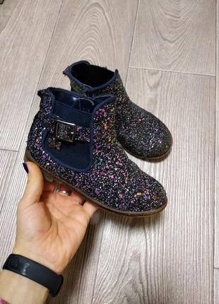 Детские туфли ботинки кеды сапожки осенние для девочки с блёст...