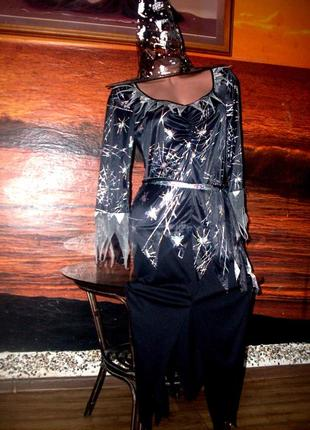 Новое платье для волшебницы 42-44р +новый колпак в подарок