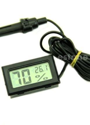 Термометр с гигрометром и выносным датчиком