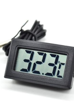 Цифровой термометр с LCD-дисплеем и внешним термодатчиком