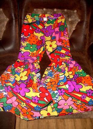 Маскарадные брюки штаны хиппи 48-50 размер