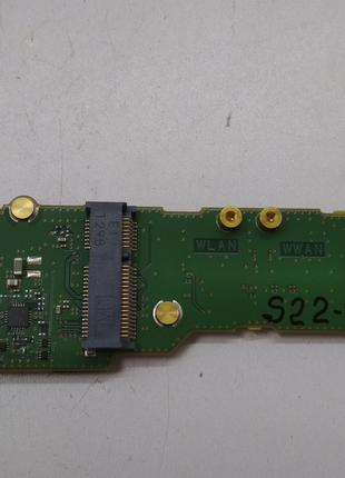S22-9 Плата модуль 2 USB, разъемов WLAN, WWAN Fujitsu LifeBook...
