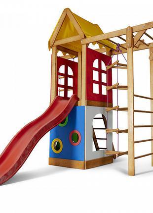 Детский игровой развивающий комплекс для улицы / двора / дачи ...