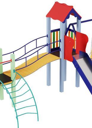 Детский игровой развивающий комплекс Верблюжонок, высота горки...