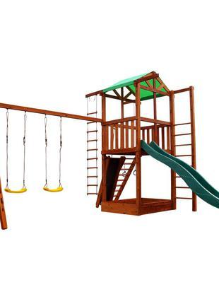Детский игровой развивающий комплекс для дачи SportBaby Babyla...