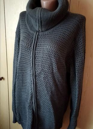 Кофта свитер большой размер