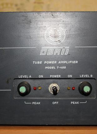 Гибридный ламповый усилитель мощности OBRIJ T-400