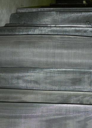 Сетка нержавеющая тканая 1.2-0,4 100см
