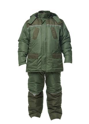 Зимний костюм для охоты и рыбалки Tourist Oliva -30 все размеры