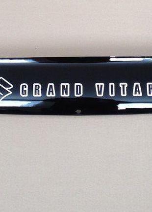 Дефлектор капота мухобойка Suzuki Grand Vitara 2 1998-2005 суз...