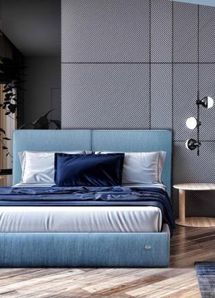 Кровать Delhi Comfort 140 х 190 см Jeans С подъемным механизмо...
