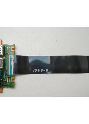 1069-9 Плата модуль 2 USB, AUDIO Fujitsu LifeBook E734 P/N:CP6...