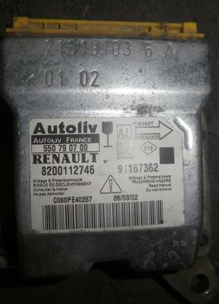 Блок airbag Renault Trafic 21619103 6 A