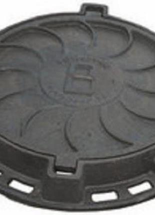 Люк канализационный тяжелый магистральный тип «ВМ»