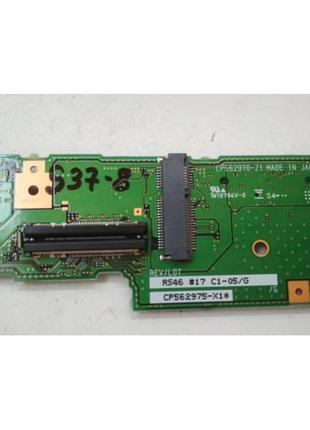 S37-8 Плата модуль батарейки BIOS, разъемов WWAN Fujitsu LifeB...
