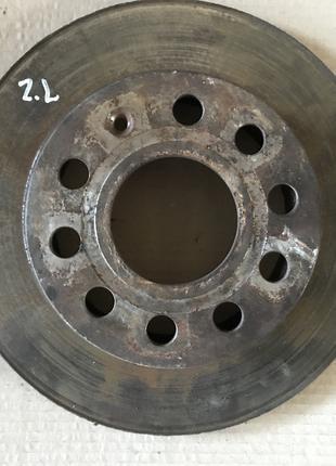 Тормозный диск задний Skoda Octavia A7 Шкода Октавия А7 1.6TDI