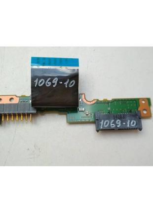 1069-10 Плата модуль разъемов АКБ, DVD Fujitsu LifeBook E734 P...