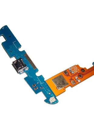 Нижняя плата LG E960 Nexus 4 с разъемом зарядки и микрофоном