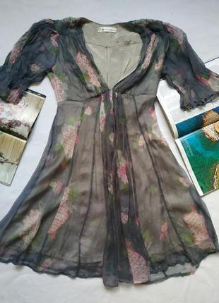 """Нежное платье из искусственного шелка """"celia birtwell"""" для """"to..."""
