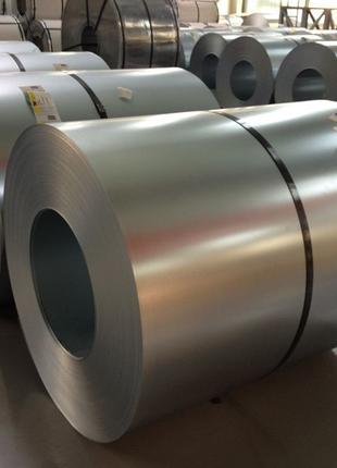 Рулон оцинкованный, стальной оцинкованный рулон, 0,8х1000/1250 мм