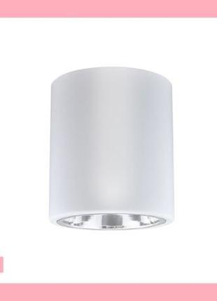 Точечный белый накладной светильник Polux