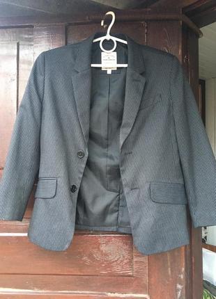 Tom tailor пиджак полосатый в полоску классика блейзер в полоску