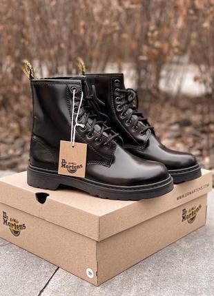 Зимние женские ботинки ❄ dr.martens с мехом
