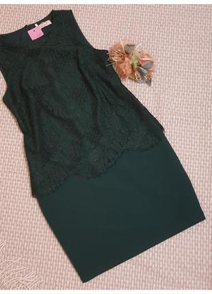 Шикарное платье marks&spencer, кружево