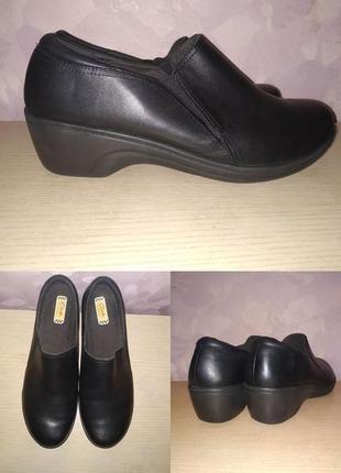 Туфли 42-43 р кожаные большой размер