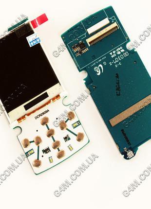 Дисплей Samsung M610 на плате с подложкой