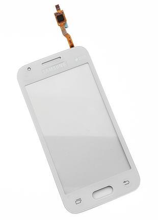 Тачскрин для Samsung G318H/DS Galaxy Ace 4 Neo белый с клейкой...
