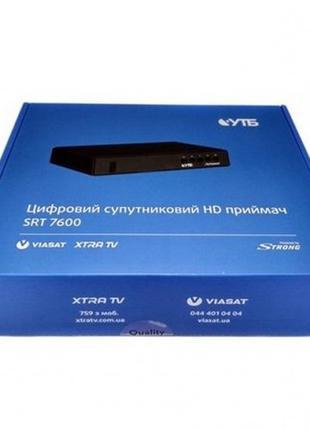Тюнер Viasat Цифровой спутниковый HD ресивер-приемник Strong 7...