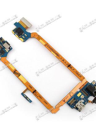 Шлейф LG D800 G2, D800T, G2 D801 G2, D803 G2 с коннекторами за...