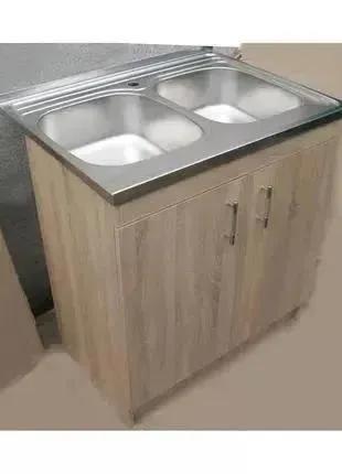 Кухонная мойка с тумбой 80 х 60см