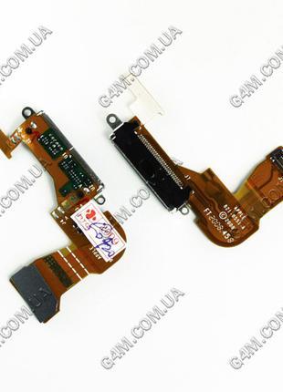 Шлейф Apple iPhone 3G с коннектором зарядки