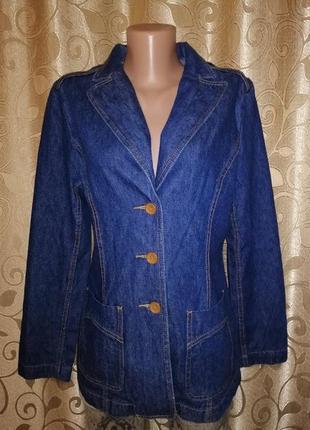 ✨✨✨стильная женская джинсовая куртка, пиджак, жакет на пуговиц...