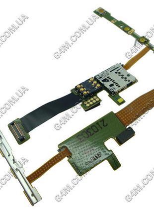 Модуль Сим карты и карты памяти Nokia E66