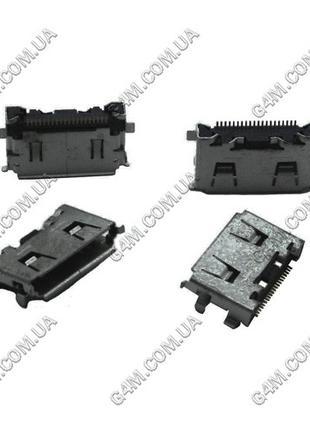Коннектор зарядки Samsung C3010, F110, F250, F480, F490, F700,...