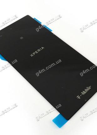 Задняя крышка для Sony Xperia Z1S черная