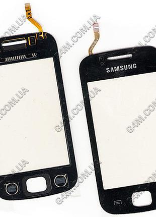 Тачскрин для Samsung S5660 Galaxy Gio черный (Оригинал China)