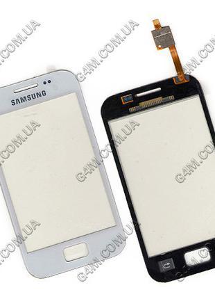 Тачскрин для Samsung S7500 Galaxy Ace Plus белый (Оригинал China)