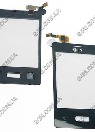 Тачскрин для LG E610 Optimus L5, E612 Optimus L5 черный