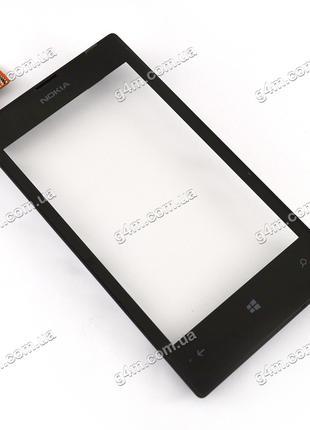 Тачскрин для Nokia Lumia 520, Lumia 525 с рамкой и датчиком пр...