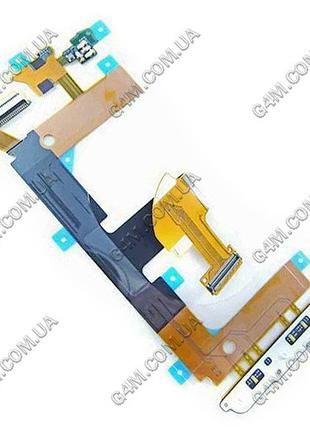 Шлейф Sony Ericsson U8i Vivaz Pro межплатный с компонентами (О...
