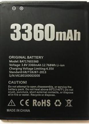 Аккумулятор для Doogee X10 (BAT17603360)