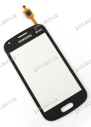 Тачскрин для Samsung S7562 Galaxy S Duos черный (High Copy)