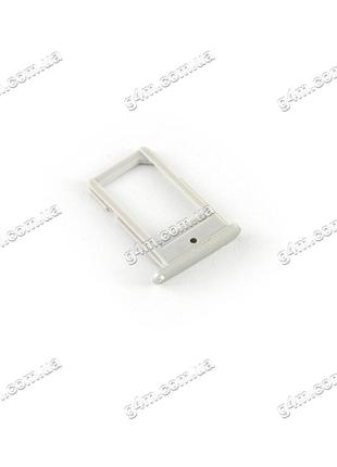 Держатель Sim карты Samsung G925F Galaxy S6 EDGE золотистый